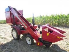河北玉米收割机厂家 田霸 两行 小型背负式玉米