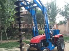 -拖拉机改装挖坑机 液压挖坑机 水泥杆钻孔机