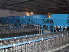 -龙门式上料机 山东鲁兴全自动养殖设备