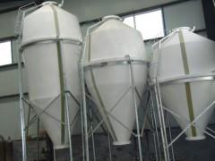 -环保材质山东无棣鲁兴养殖设备储料塔